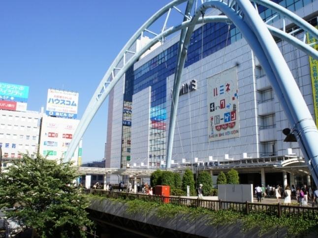 JR南武線登戸駅から立川駅まで約7分