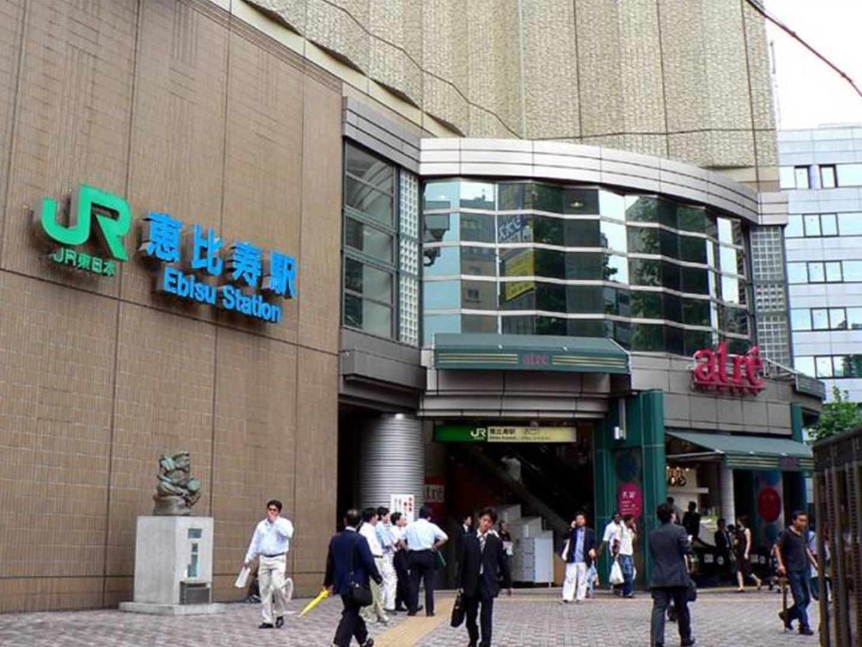 JR山手線目黒駅から恵比寿駅まで乗り換えなしで2分