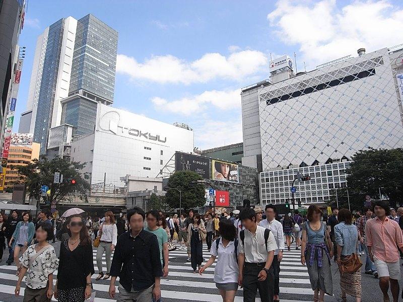 JR山手線目黒駅から渋谷駅まで乗り換えなしで約2分