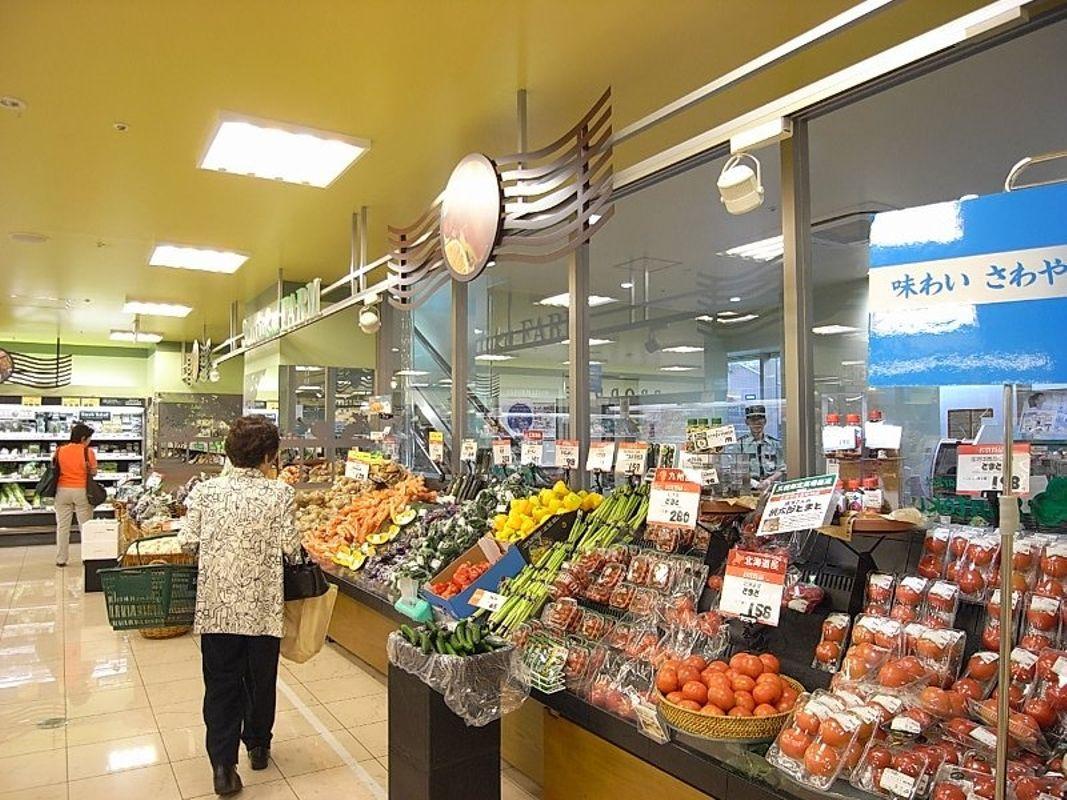 早稲田駅からすぐのスーパー。深夜1時まで営業なので遅くなっても安心