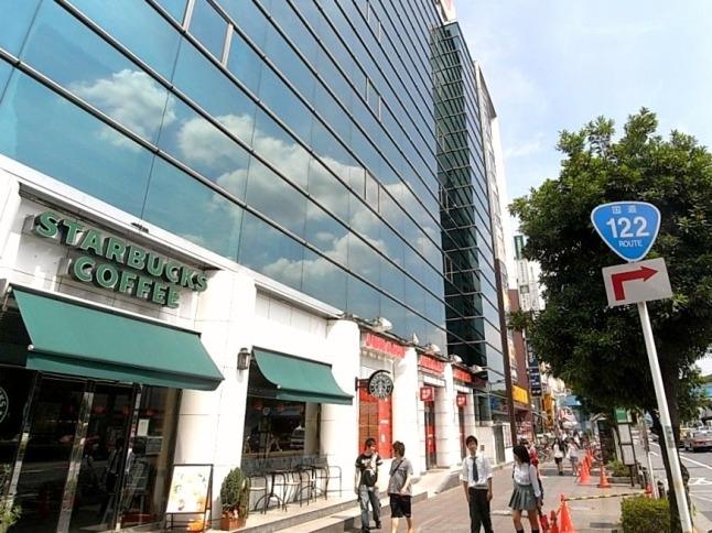 飲食店も豊富。カフェからお食事まで幅広く揃う。