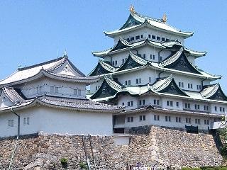 金の鯱で有名な城「名古屋城」